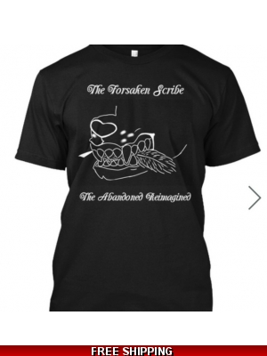 Official Forsaken Scribe T-Shirt