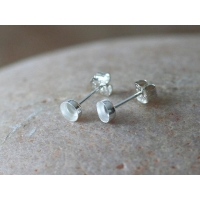 Breastmilk stud earrings