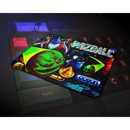 Wizball Amstard mouse mat