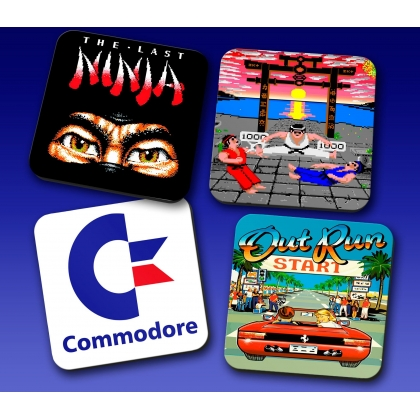 Commodore coaster set