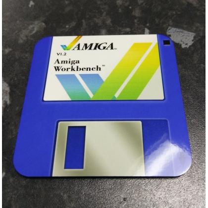 Amiga workbench coaster