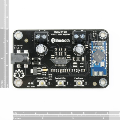 2 x 8 Watt Class D Bluetooth Audio Amplifier Board - TSA2110A