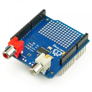 OSD Shield for Arduino - On Screen Display for Arduino