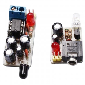 ICSK054A Infrared based music transmitter and receiver DIY Kit