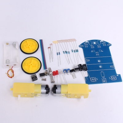 Line Following Robot DIY Kit For Basic Electronics Beginners and Hobbyists