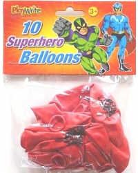 Image of 24 x Super Hero Balloons 10pk