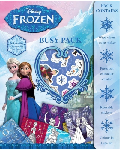 12 x Frozen Busy Packs