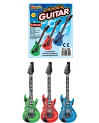12 x Inflatable Guitars