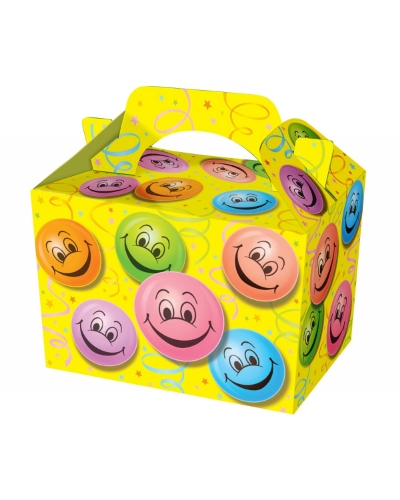 50 x Smiley Face Food Boxes