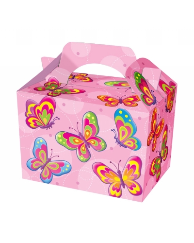 50 x Butterfly Party Food Boxes