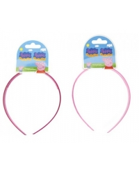 Image of 12 x Peppa Pig Alice Hair Bands