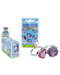 Image of 9 x Peppa Pig  7 Ring Sets