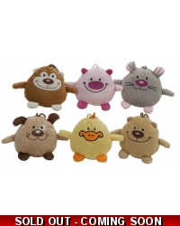 24 x Plush Animal Friends 4