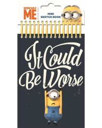 Image of 8 x Minions Mini Sketch Book Sets