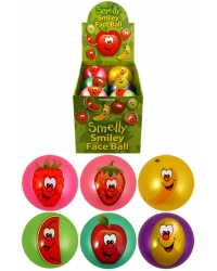 12 x Inflated Smelly Fruit Balls 9cm