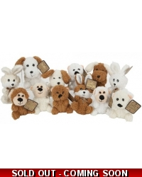 12x Assorted Plush Animals 5
