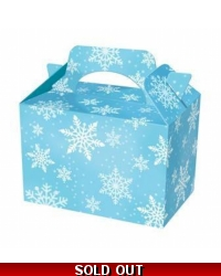 50 x Snowflake Food Boxes