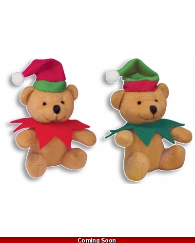Wrapped Grotto Toys - Plush Elf 12cm Bears x 24