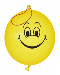 Image of 50 x Smiley Face Punch Balloons