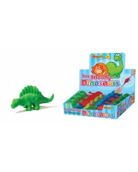 Image of 48 x Soft Rubbery Dinosaurs 7cm