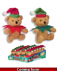 Image of 24 x Plush Elf Teddy Bears 12cm