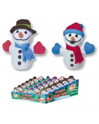 Image of 36 x Plush Snowman 9cm