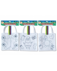 Image of 12 x Colour In Felt Gift Bags