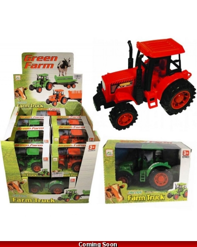 Wrapped Grotto Toys - Farm Tractor x 12