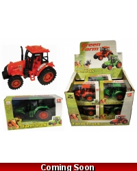 Image of Wrapped Grotto Toys - Large Farm Tractor x 12