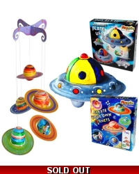 Image of Wrapped Grotto Toys - Space Craft Kits x 6