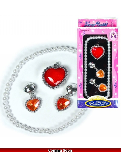 Wrapped Grotto Toys - Beauty Jewel Set x 18