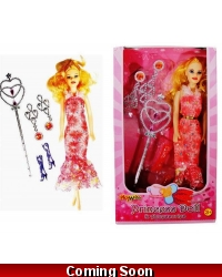 Image of Wrapped Grotto Toys - Princess Dolls & Accessories x 12