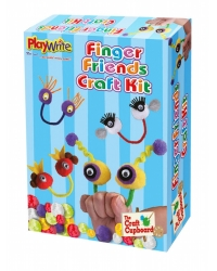 Image of Wrapped Grotto Toys - Finger Friends Craft Kit x 12