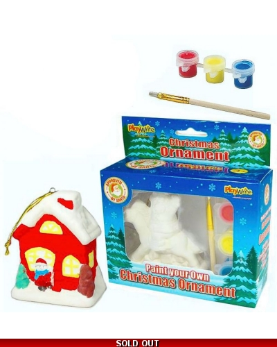 Wrapped Grotto Toys - Paint Your Own Christmas Ornament x 8