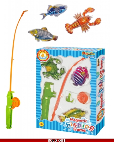Wrapped Grotto Toys - Magnetic Fishing Games x 12