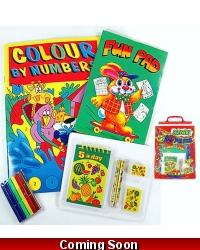Image of Wrapped Grotto Toys - Christmas Bumper Activity Packs x 12