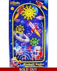 Image of Wrapped Grotto Toys - Space Pinball Games x 12