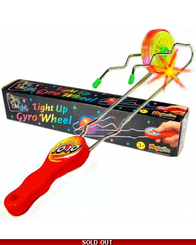 Wrapped Grotto Toys - Light Up Rail Twister x 12