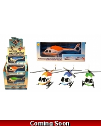 Image of Wrapped Grotto Toys - Pullstring Helicopters x 12
