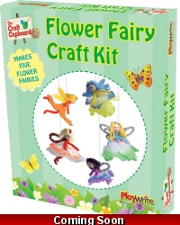 Image of Wrapped Grotto Toys - Flower Fairy Craft Set  x 12