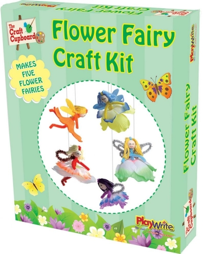 Wrapped Grotto Toys - Flower Fairy Craft Set  x 6