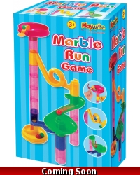 Image of Wrapped Grotto Toys - Marble Run Games x 6