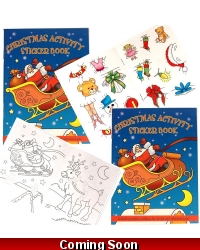 24 x Christmas Sticker Activity Books