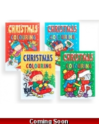 Image of 12 x Christmas A4 Colouring Books