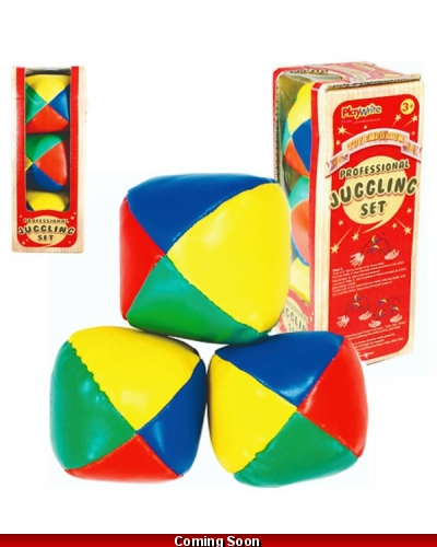 Wrapped Grotto Toys - Professional Juggling Balls x12
