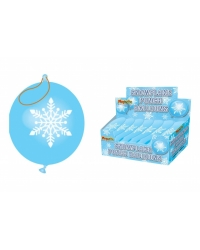 Image of 60 x Snowflake Punch Balloons
