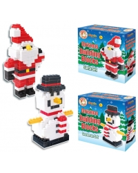 Image of 6 x Christmas Building Block Sets