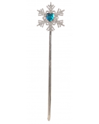Image of 12 x Snowflake Ice Princess Wands 34cm