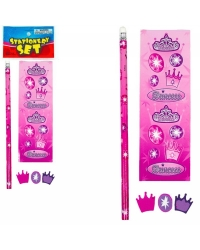 Image of 72 x Princess Sticker/Stationery Sets