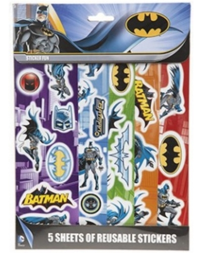 12 x Batman Sticker Packs